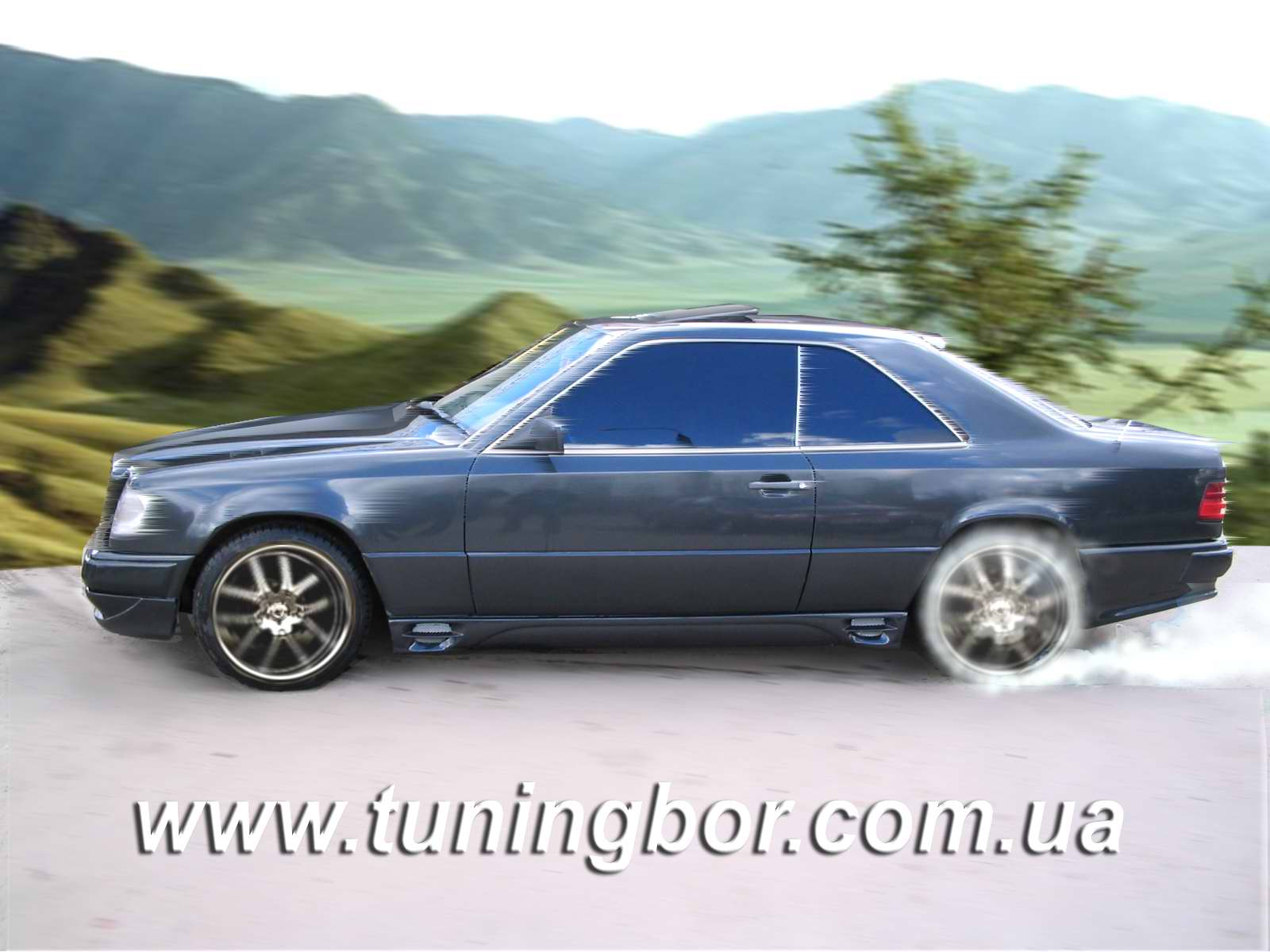 Mercedes benz w124 tuning blog best car review for Mercedes benz w124 tuning